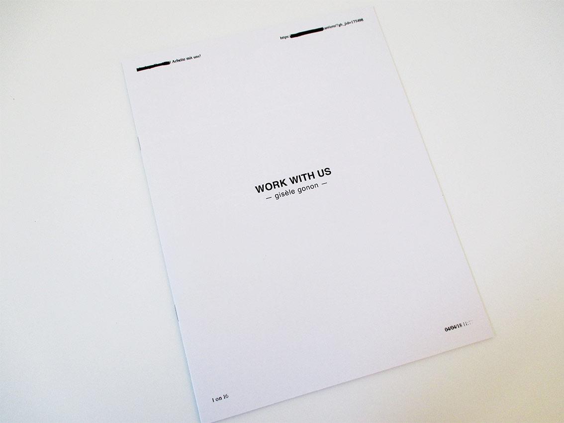 Gisèle Gonon Katalog Goldrausch 2018