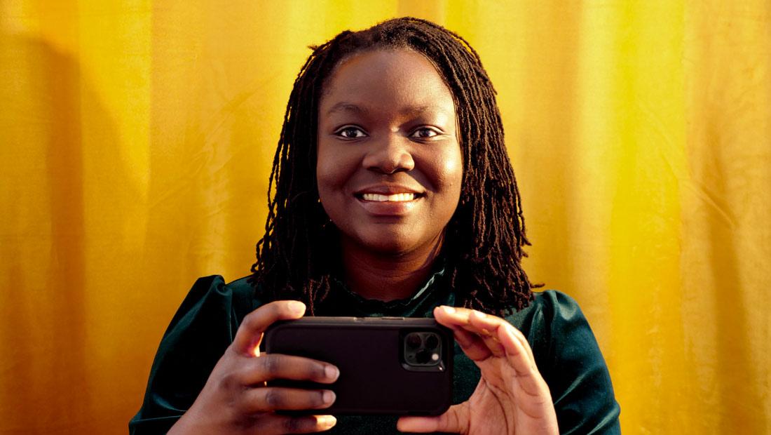 Porträt Nnenna Onuoha, Goldrausch 2021
