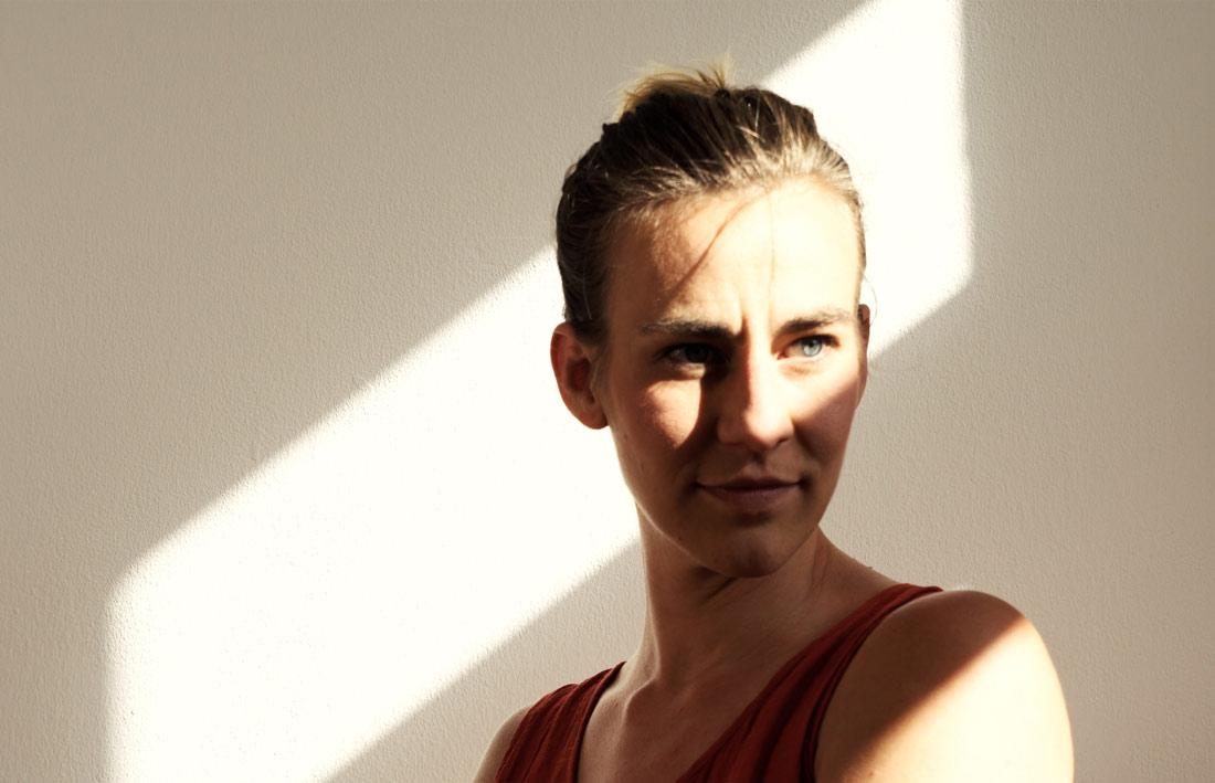 Porträt Veruschka Bohn aka V3 , Goldrausch 2021