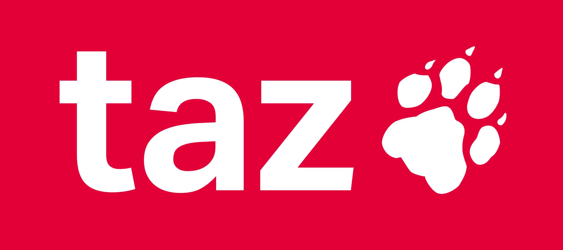Logo taz – die tageszeitung